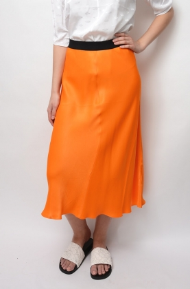 Satin Skirt, Clemence