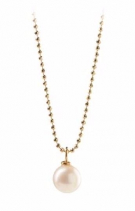 Freshwater Necklace Gold Plated