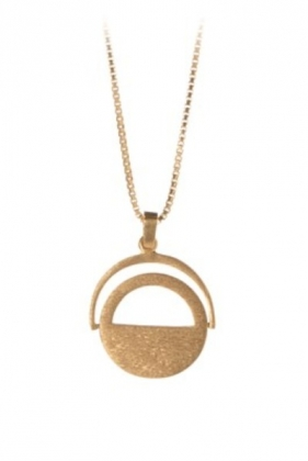 Make A Wish Necklace Gold Plated 40-48 cm