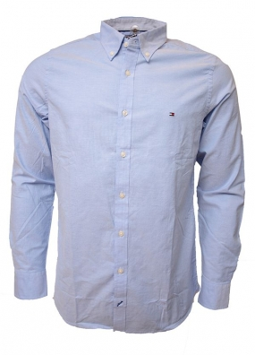 Stretch Oxford Shirt Blue