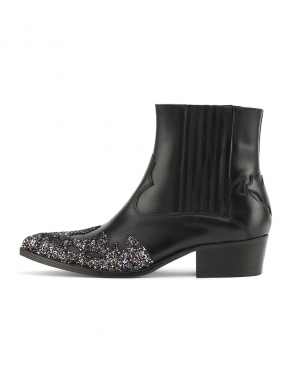 Addi Cowboy boot with glitter