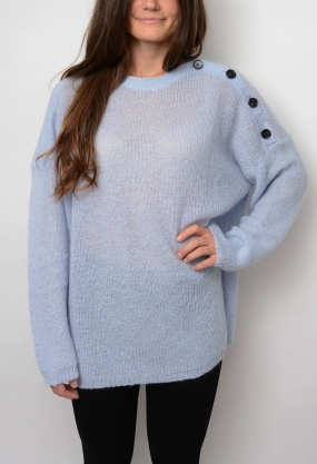 Agne Sweater, Xenon Blue