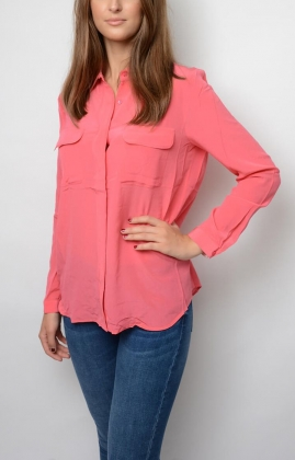 Athalie Shirt, Rouge Red