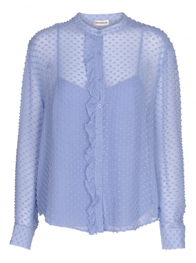 Fria Blouse, Forever Blue