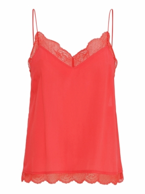 Pouline Top, Flame Scarlet