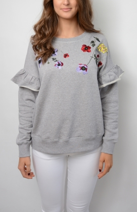Estel Sweater, Grey Melange