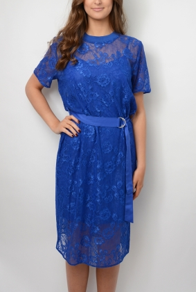 Talisa Dress, Surf The Web Blue