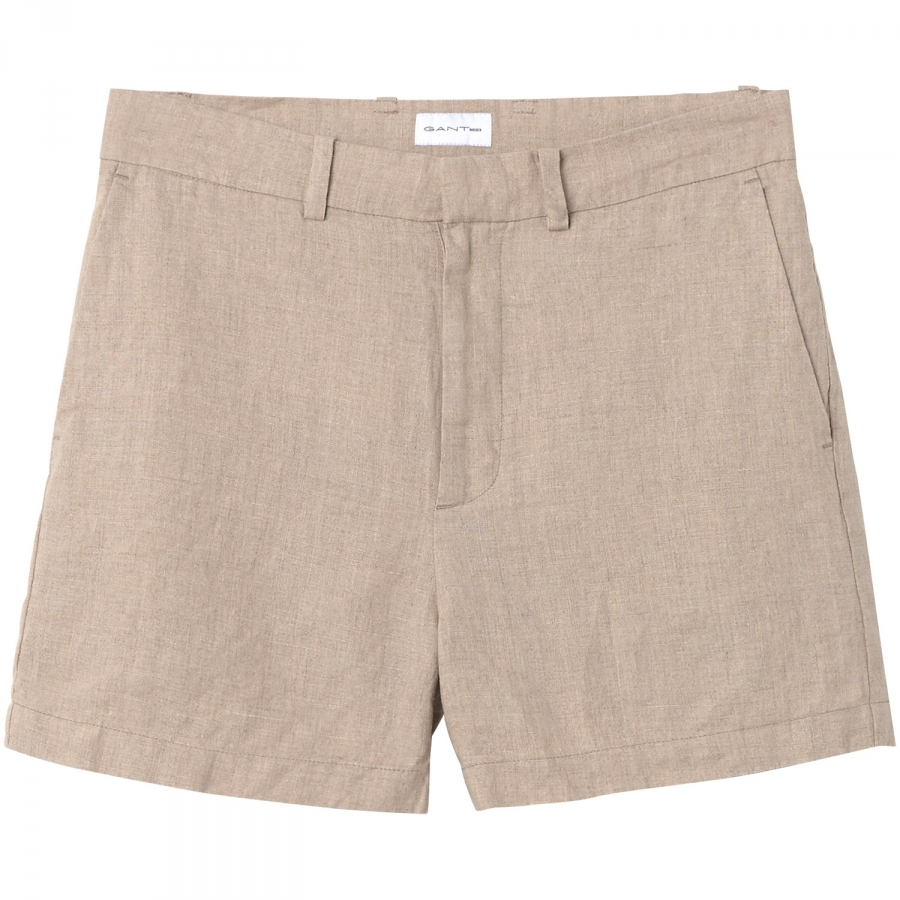 GANT The Oversized Linen Chinos - Cement GANT 4PST42