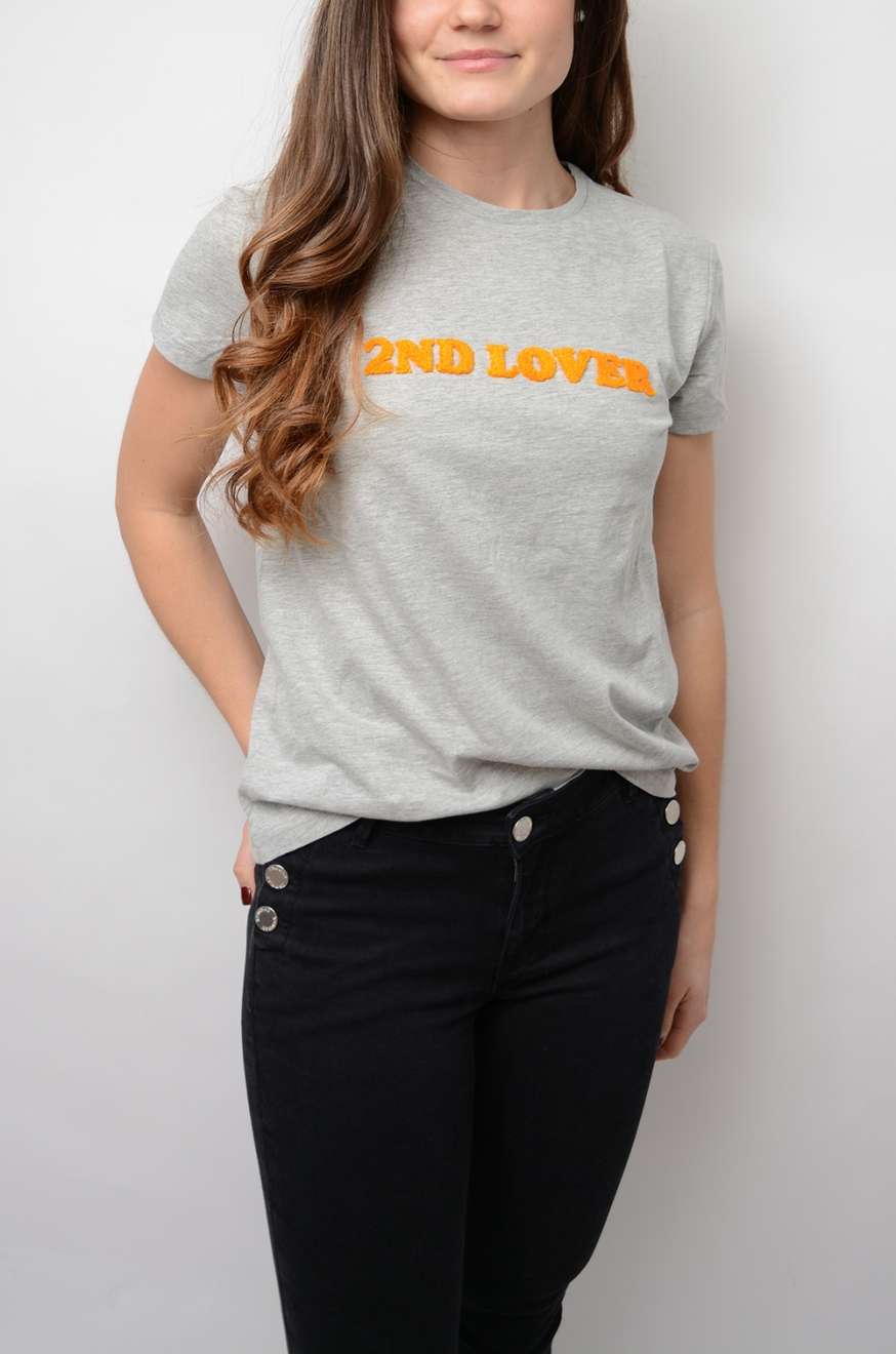 2NDDAY - 2nd Lover - T-Shirt - Weiß 2nd Day