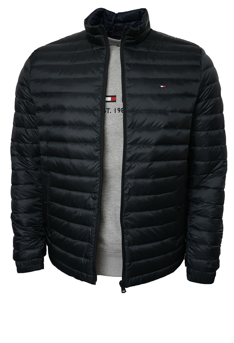 0734258b4 TOMMY HILFIGER HERR | Core Lw Packable Down Jacket, Black | NEW