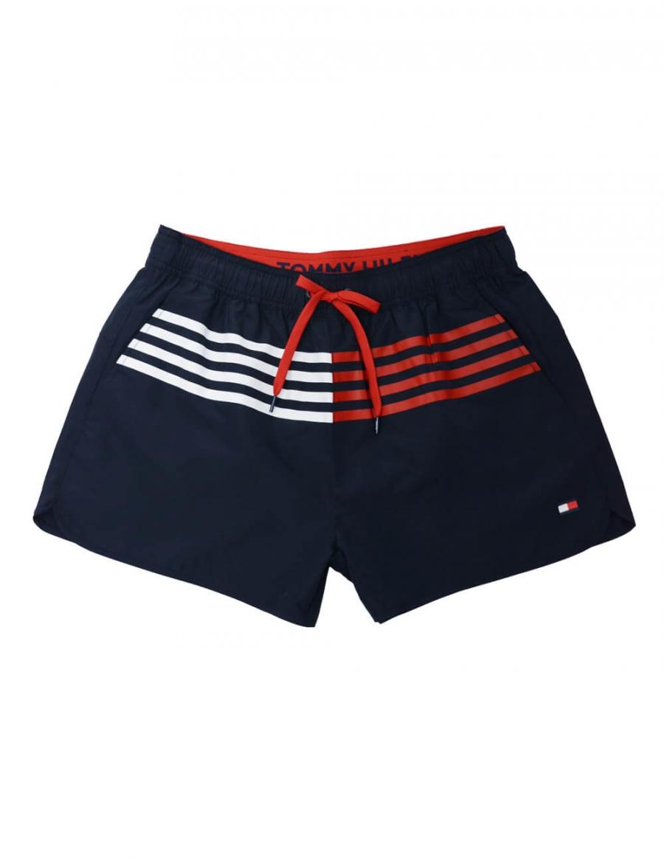 7f70c2590ec2 TOMMY HILFIGER HERR | Runner Shorts, Navy Blazer | Trousers & J