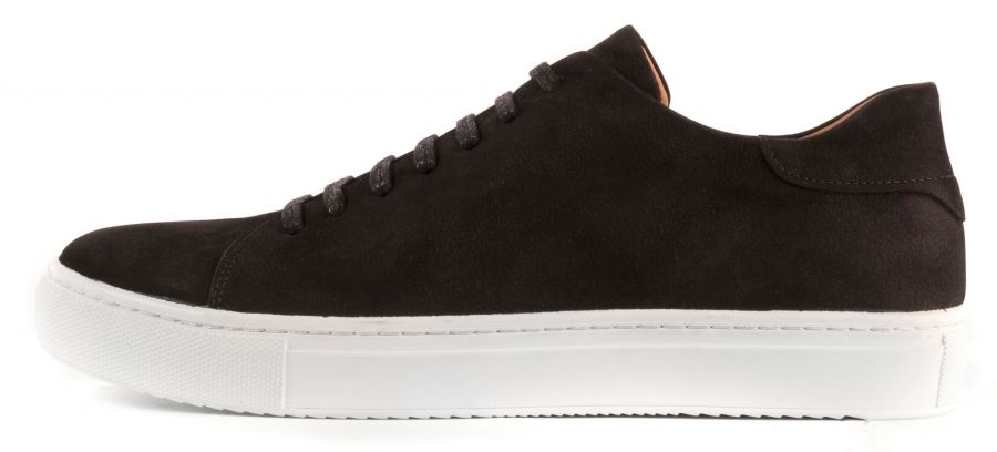 best website c5d6a 11b1b Nubuck Skor amp  Human Sneakers Henry Herr Shoe Scales Black ppYt0wU