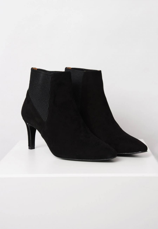 359fe9ecdf3 FLATTERED | Sasha Boots, Black Suede | Ankelboots - Skor | Elin