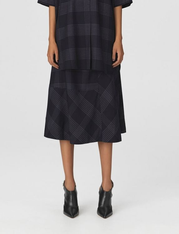 ac3d99cbc9 BY MALENE BIRGER | Tahola Skirt, Night Blue | Skirts - For her