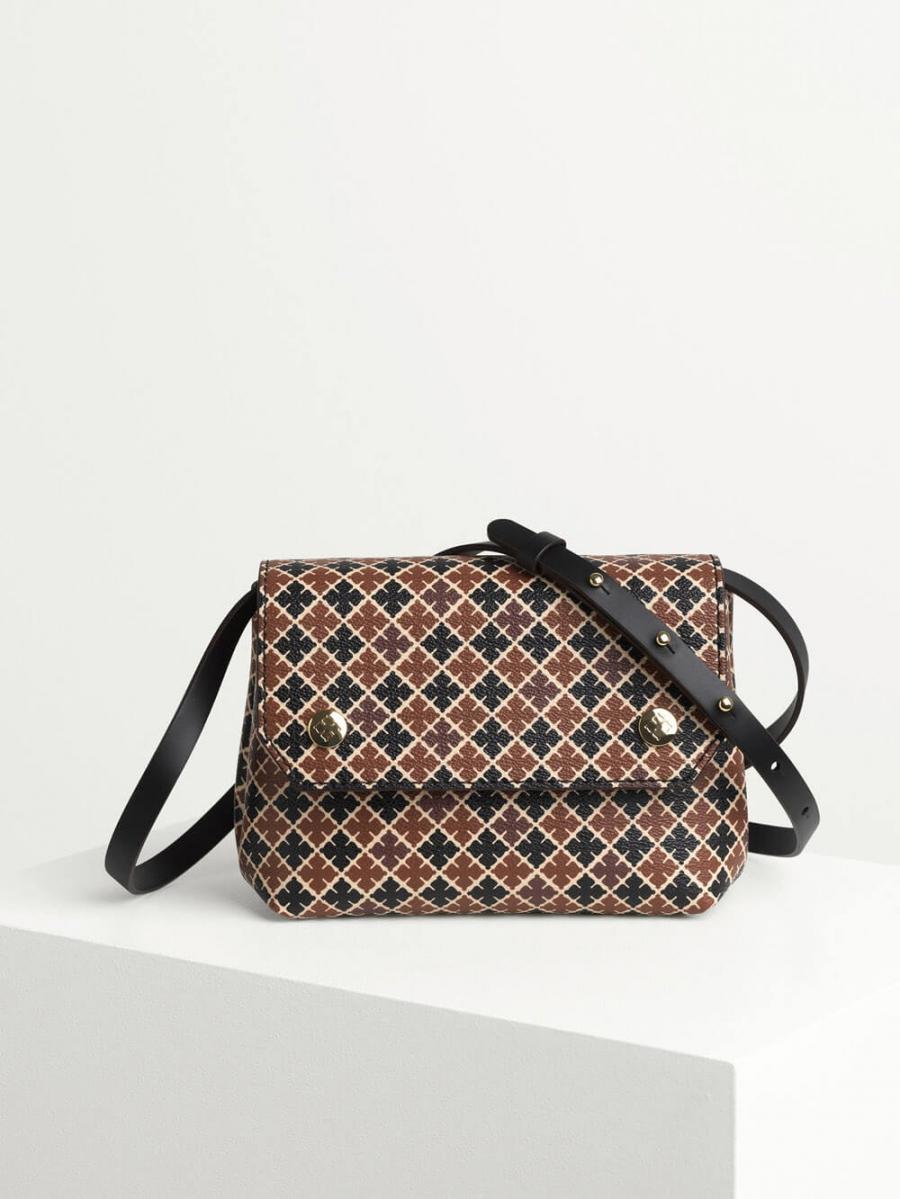 9bc5f22f4fc BY MALENE BIRGER | Cross-body Bag, Black & Cream | See all Bags